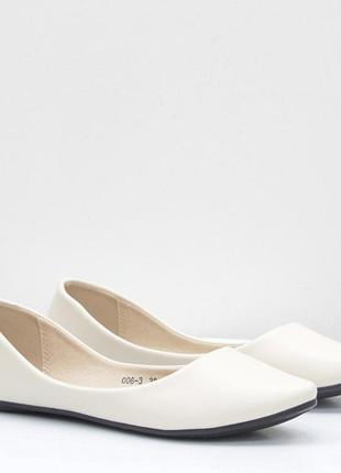 Женские лодочки лёгкие балетки мокасины туфли на низком ходу эко кожа