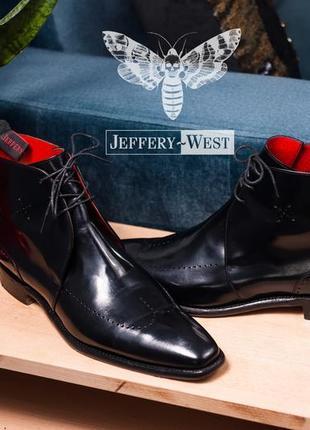 Чукка jeffery-west, англия 43 мужские ботинки дезерты кожаные сапоги