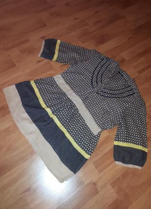 Рубашка, блуза, блузка без воротника этно