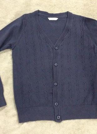 Джемпер пиджак свитер на 8-9 лет marks&spencer