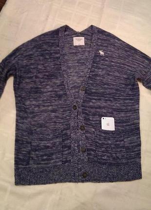 Кофта кардиган свитер джемпер abercrombie & fitch
