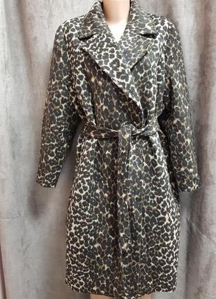 Пальто xxxl,паььто 48размера,пальто 54 размера,пальто в леопадовый принт