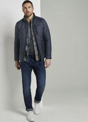 Стегнутая курточка водонепроницаемая tom tailor