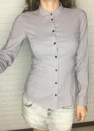 Приталенная рубашка, slim fit