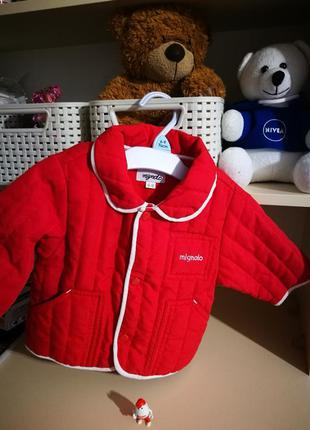 Стильная демисезонная куртка итальянской фирмы mignolo