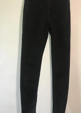 Скини джинсы со стрепами bershka