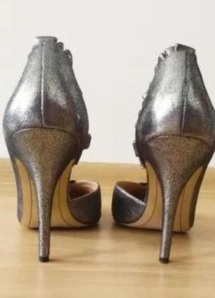 Серебряные туфли karl lagerfeld4 фото