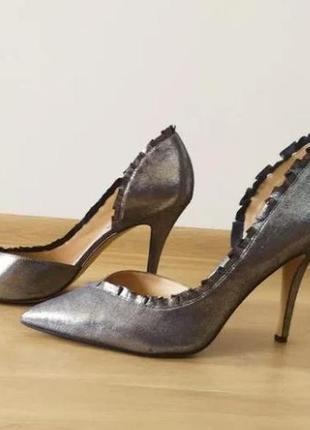 Серебряные туфли karl lagerfeld2 фото