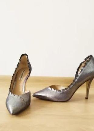 Серебряные туфли karl lagerfeld1 фото