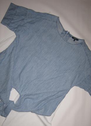 Свободная блуза оригинальный крой