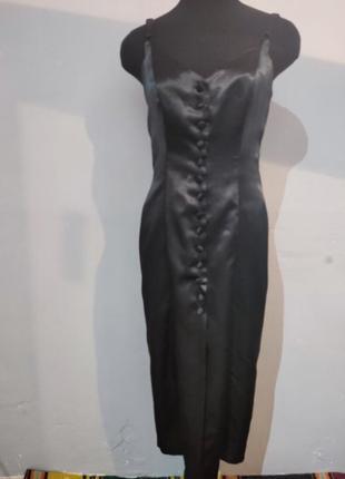 Платье миди в бельевом стиле