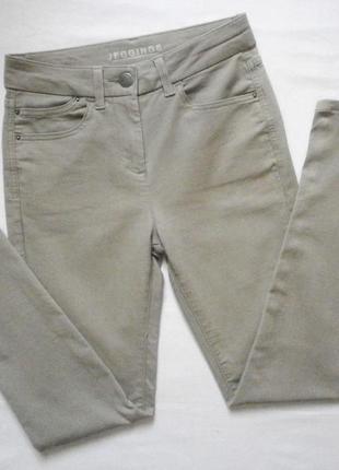Штаны-джинсы скини с высокой талией
