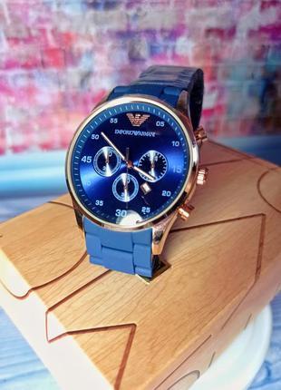Часы emporio silicone