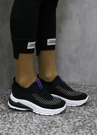 Женские текстильные кроссовки, распродажа3 фото