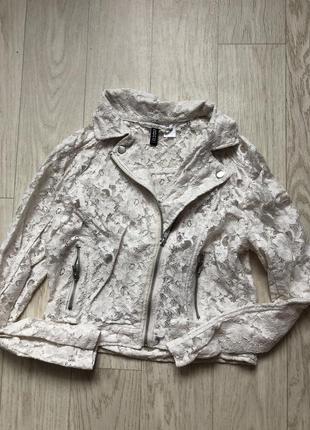 Ажурная косуха пиджак
