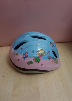 Дитячий велосипедний шолом meggy