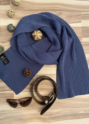 Красивый,вязаный шарф из 100% коттона🧣21/174 (швеция🇸🇪)