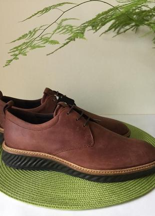 Туфлі шкіряні чоловічі ecco hybrid 836404 оригінал розмір 42