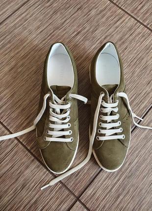 Замшевые, стильные кроссовки nubikk, оригинал