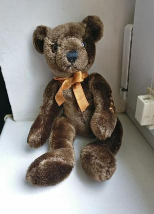 A&a soft toy brown millennium teddy медведь мишка