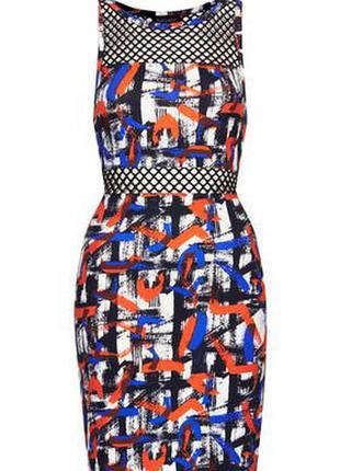 Нереальное секси платье topshop с сеткой