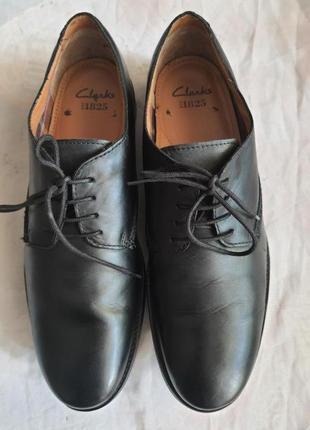 Туфли clarks est 1825 оригинал 45 размер натуральная кожа
