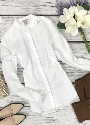 Оригинальная длинная рубашка h&m  bl4171  h&m