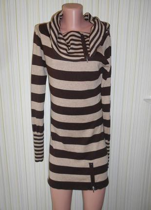 #трикотажная туника р.12\14 #jane norman#платье-реглан #длинный свитер # #