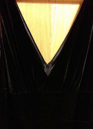 Роскошное бархатное платье laura ashley