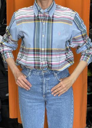 Супер класна рубашка ralph lauren unisex