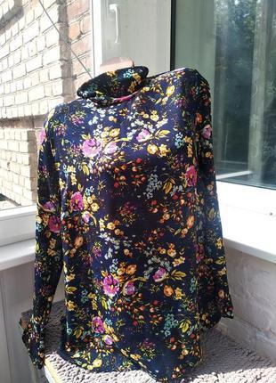 Sale шикарная блуза в цветочный принт primark