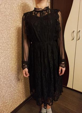 Кружевное,нежное платье