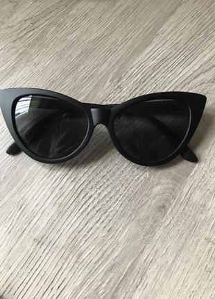 Очки кошачий глаз, матовые очки