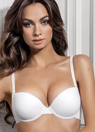 Качественный гладкий бюстгальтер «push-up» abby от jasmine lingerie очень дёшево