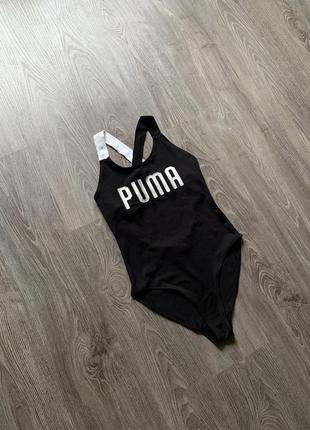 Женский купальник/боди puma preto body!