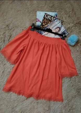 Шикарная блуза с кружевом/блузка/туника/платье