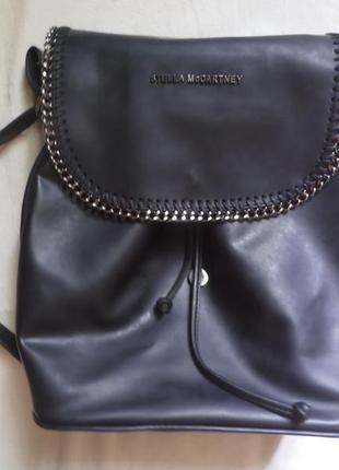 Рюкзак stella mccartney кожа !!