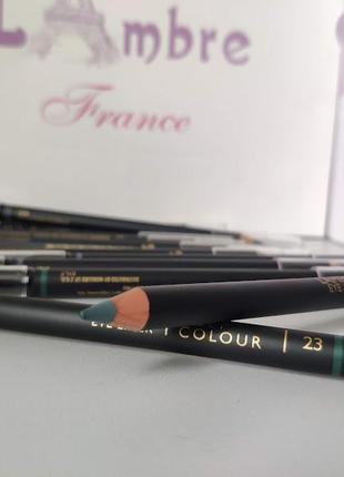 Акция! карандаш для глаз с растушевкой deep colour 23 лесная зелень