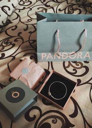 Пандора pandora браслет шарм бусінка оригінал