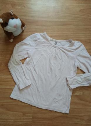 Базовая футболка с рукавом. лонгслив