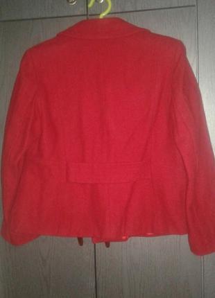 Шерстяное полу пальто жакет george, размер 16/44.