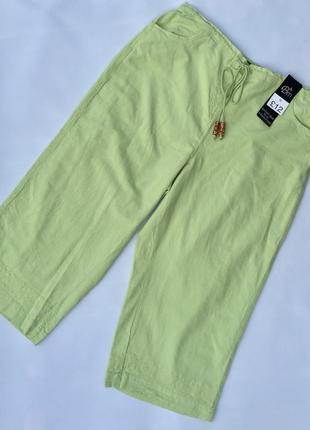 Коттоновые брюки капри,бриджи  bm