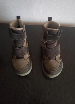 Зимние термо ботинки на мальчика