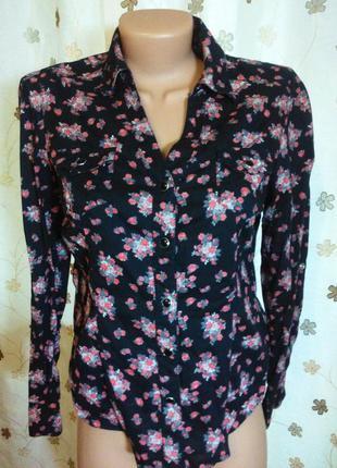 Рубашка,блуза,блузка 100% хлопок на кнопках