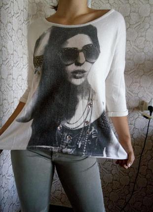 Модный блузон oversize