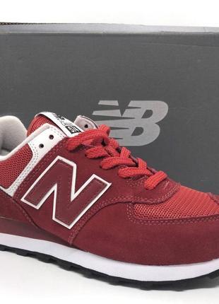 Шикарные замшевые кроссовки new balance 574 classic оригинал