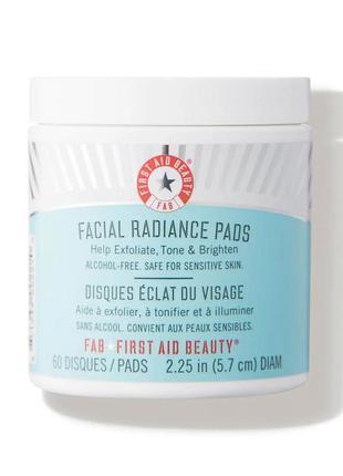 Очищающие диски от first aid beauty ,60 дисков