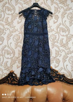 ❤️ шикарное ажурное платье 👗 lipsy london 🥰🥰🥰