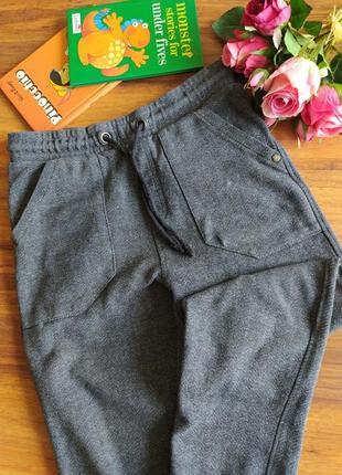Модные штаны,джоггеры на парнишку m&s на 8-9 лет.
