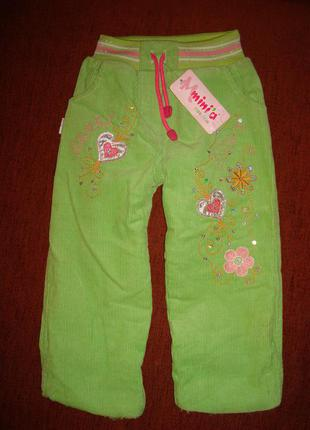 Очень теплые штанишки на 2-3 года